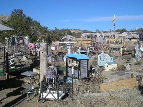 View Of Tiny Town In Madrid New Mexico Photoshare Galleries Of Roadtrip America
