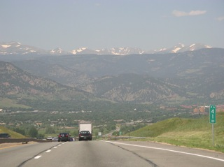 CO-36  to Boulder, CO