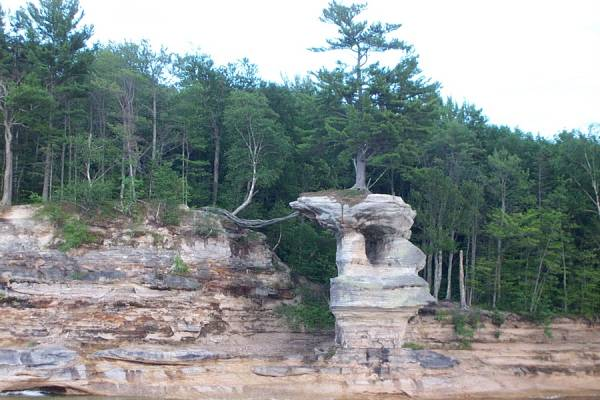 Castle Rock in Pictured Rocks