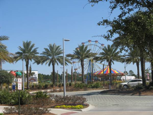 The Ferris Wheel at Pier Park in Panama City Beach