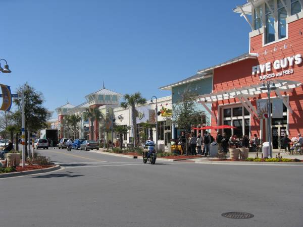 Pier Park is a popular shopping and dinning experience in Panama City Beach