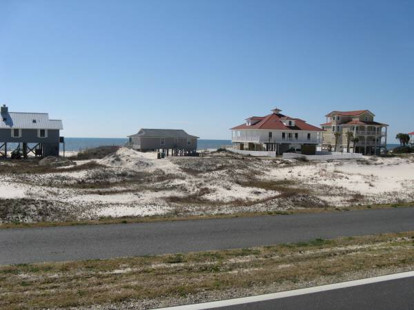 Some of the cottages on St. George Island
