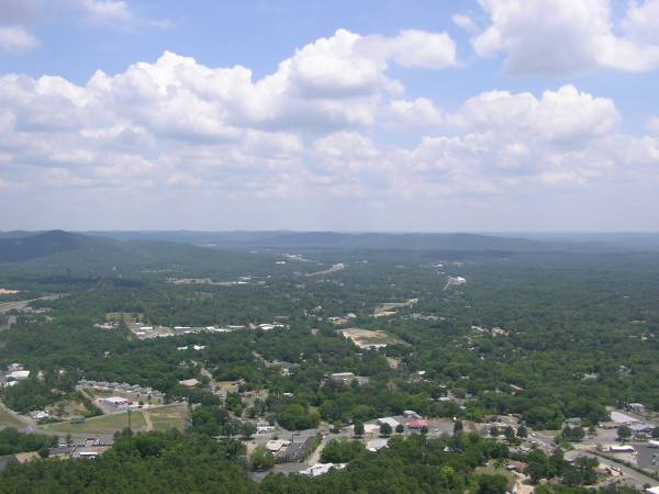 View From Hot Springs Mt. Tower