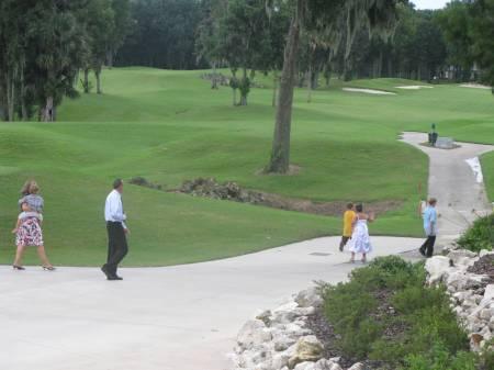 One of Ocala's many golf courses.