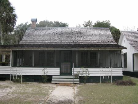 Home where Marjorie Kinnan Rawlings penned The Yearling