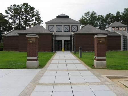 War museum at Andersonville, Georgia