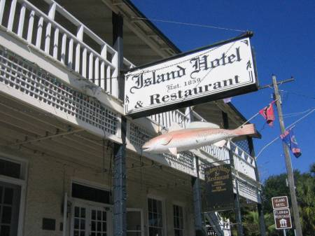 Historic Island Hotel & Restaurant is a popular Florida bed & break