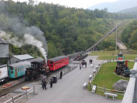 Mt Washington Cog Railway