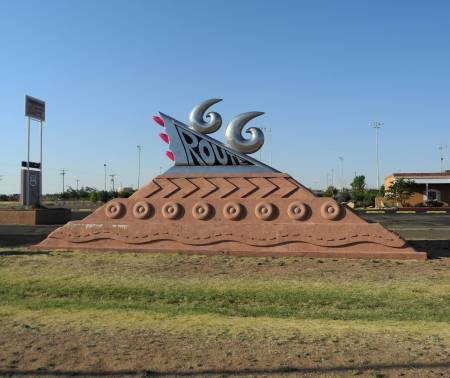 Route 66 Monument in Tucumcari, NM