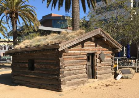 Jack London Cabin at Jack London Square