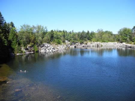 Quarry on Vinalhaven Island