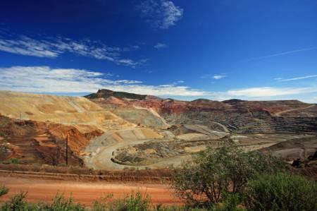 Santa Rita Open Pit Copper Mine