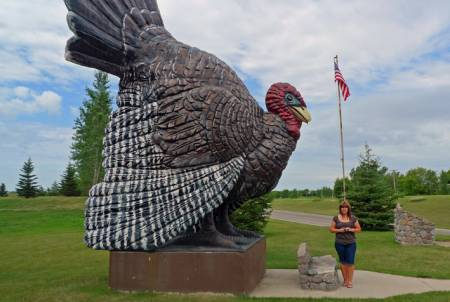 Big Tom, the World's Largest Turkey