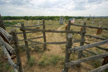 Boot Hill Cemetery, Old Tacosa