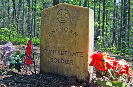 Confederate Graves, Natchez Trace