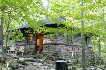 Devils Den State Park cabin