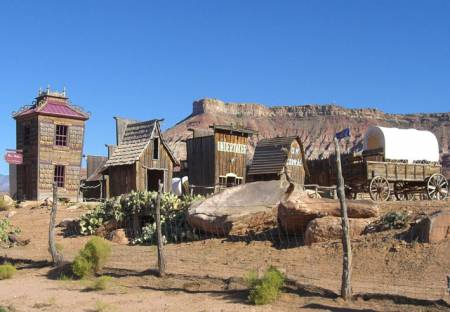 Fort Zion, Virgin Trading Post