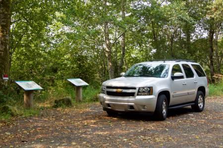 campsite signs