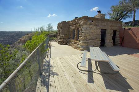 Sorenson Cabin Palo Duro Canyon Photo By Peter Thody