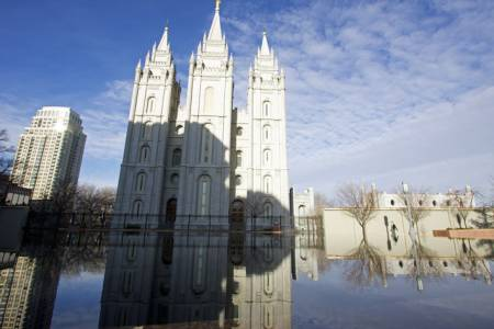 Salt Lake Temple, Reflecting Pool