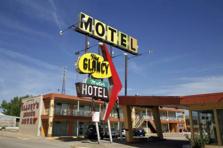 The Great American Roadtrip Forum Glancy Motor Hotel Clinton Oklahoma