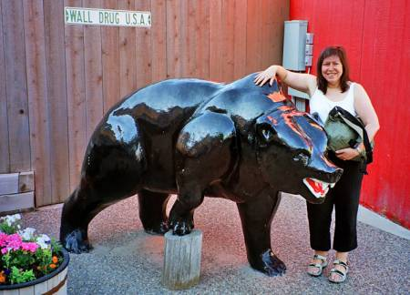 Bear at Wall Drug Store, South Dakota