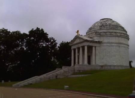 Illinois Memorial at Vicksburg NMP