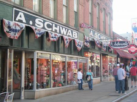 A Schwab on Beale Street