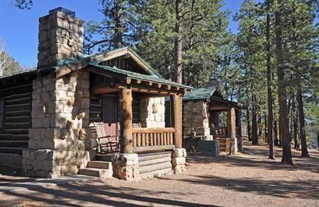 Cabins, Grand Canyon Lodge, North Rim