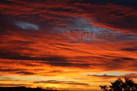 Sunrise over Anza Borrego