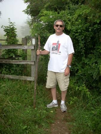 Hubby on the Appalachian Trail