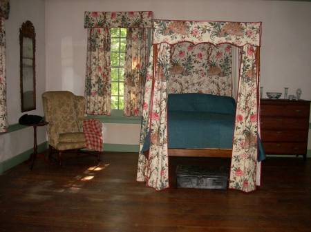 George and Martha's bed