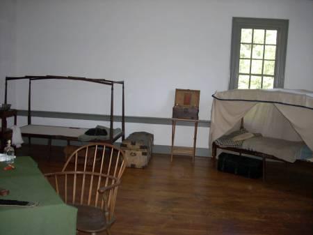 Those cots set up