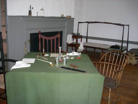Washington's aides' room