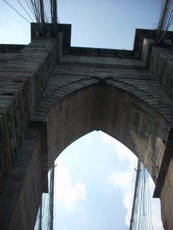 Brooklyn Bridge, looking up!