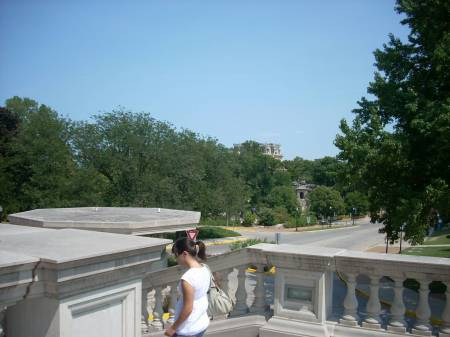 From the Capitol Steps, Governor's Mansion in the distance