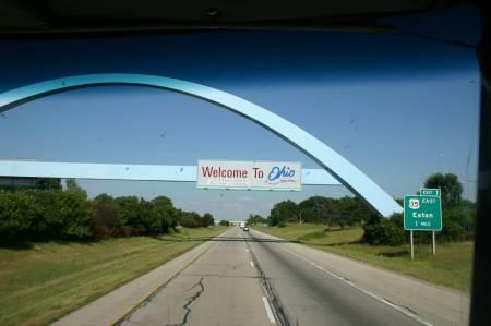 Ohio to West US