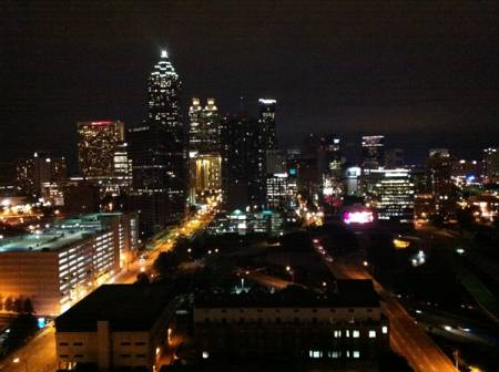 Atlanta Nighttime Skyline