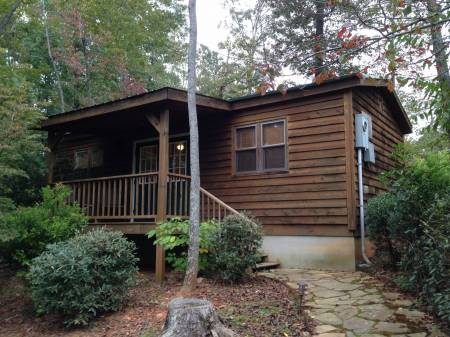 Cabin at Dahlonega Spa Resort
