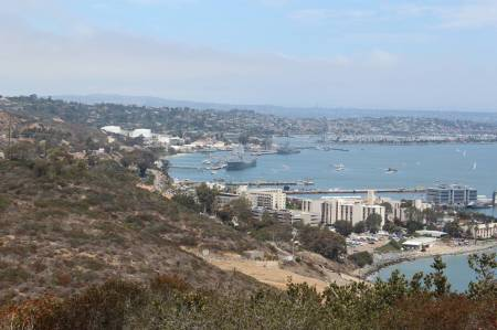 The view from the Monument - San Diego