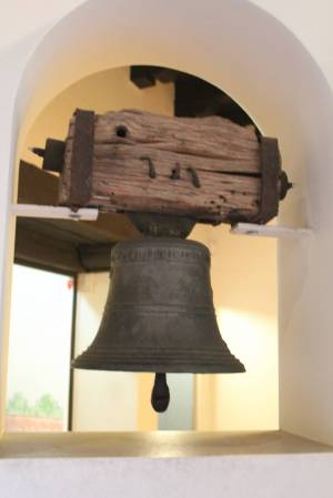 One of the missions many bells.