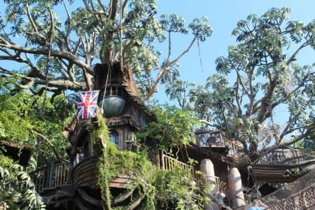 Tarzan's Treehouse - Disneyland