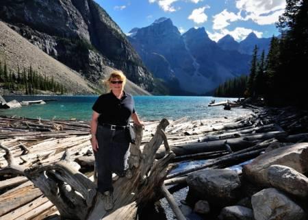 Moraine Lake; Banff National Park, Alberta
