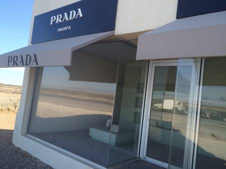 prada marfa. Black Bedroom Furniture Sets. Home Design Ideas