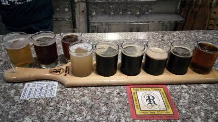 Rapp Brewing Flight