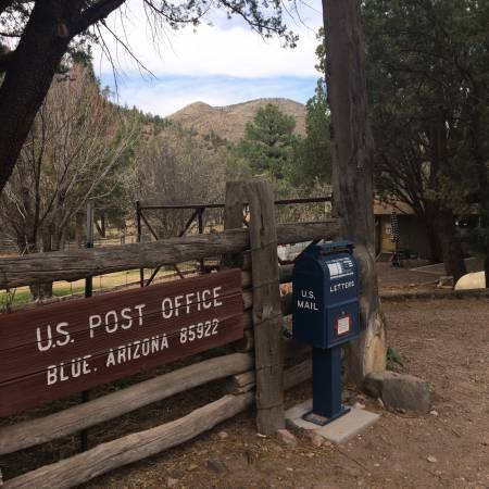Blue post office
