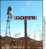 Goffs Railroad Siding