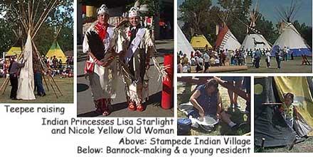 Roadtrip America 174 Calgary Stampede Indian Village