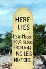 Image result for here lies lester moore