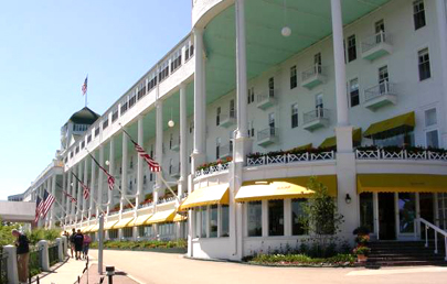 The Grand Hotel Boasts Longest Porch In World